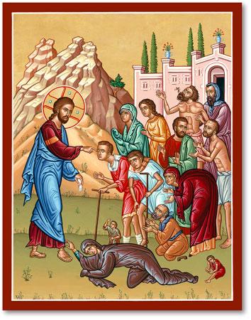 Christ Healing Sick icon