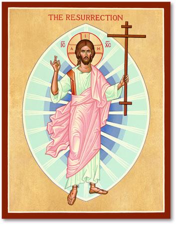 Christ Resurrected icon