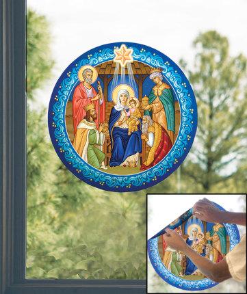 Christmas Vinyl Window Icon