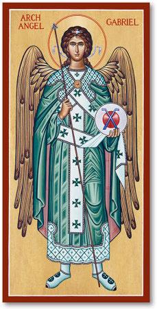 Saint Gabriel the Archangel Icon
