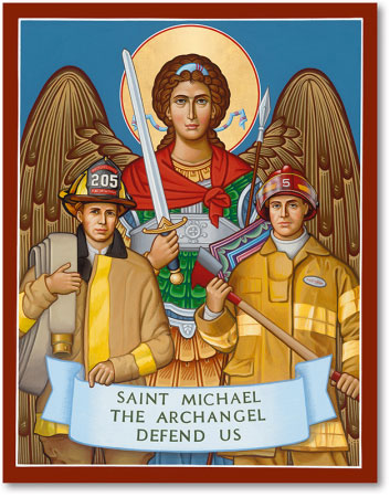 Saint Michael Protector of Firefighters icon
