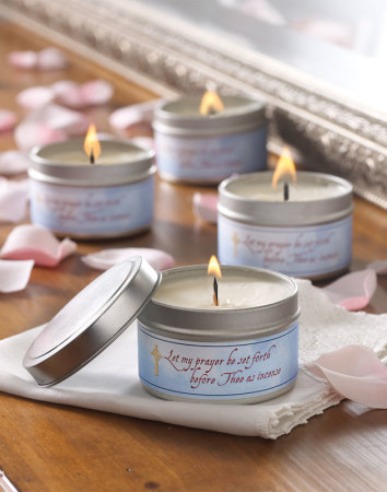 Discounted set of 4 scented candles