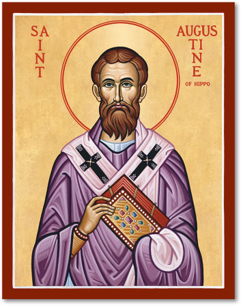 St Augustine of Hippo icon