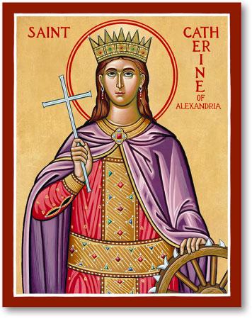 St. Catherine of Alexandria icon