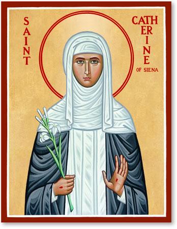 St. Catherine of Siena icon