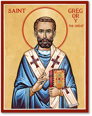 St Gregory the Great icon
