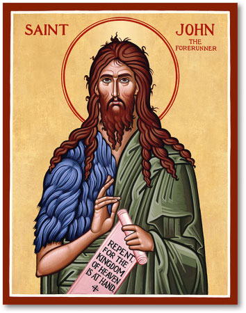 St John the Baptist icon