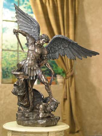 """St. Michael the Defender, 29"""" tall"""