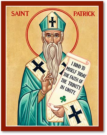 St. Patrick icon
