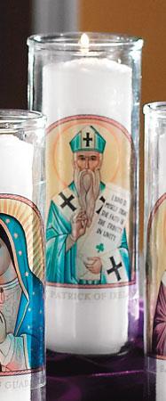 St. Patrick Votive Candle