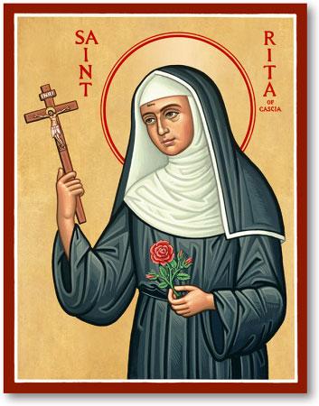 St. Rita of Cascia icon