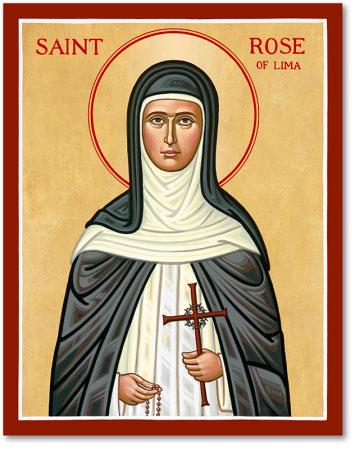 St. Rose of Lima icon