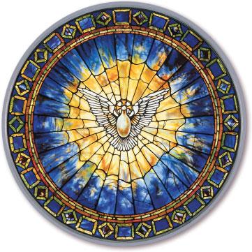 Tiffany Holy Spirit Magnet