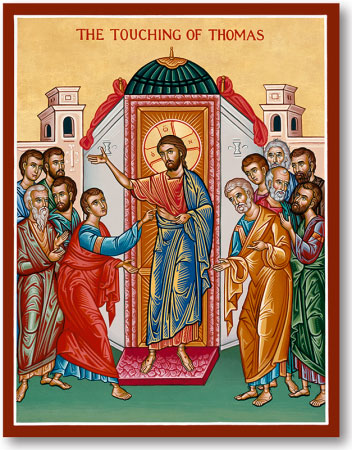 Touching of Thomas icon