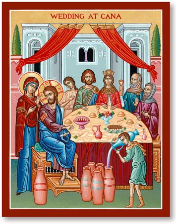 Wedding at Cana icon