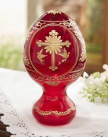 2-sided Crystal Easter Egg