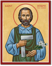 St Joseph the Worker icon