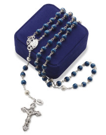 Blue Marble Rosary