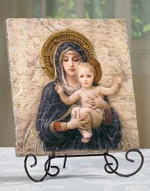 Bougereau Madonna Tile