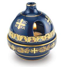 Byzantine Ceramic Votive Lamp