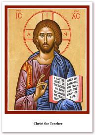 Christ the Teacher Holy Cards