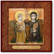 Christ the True Friend Icon Magnet