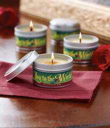 Cinnamon Christmas Candle