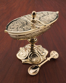 Deluxe Brass Incense Boat