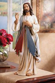 Divine Mercy figurine 9.5