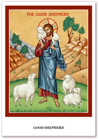 Good Shepherd Holy Cards