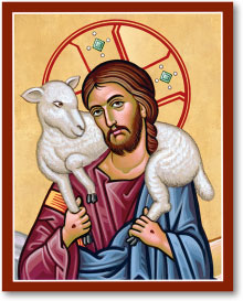 Good Shepherd portrait icon