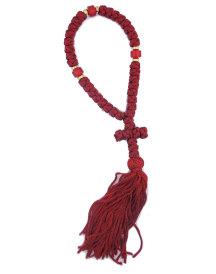 Greek Prayer Rope   Red
