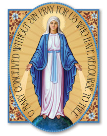 Miraculous Medal Magnet