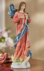 Our Lady Untier of Knots Figurine