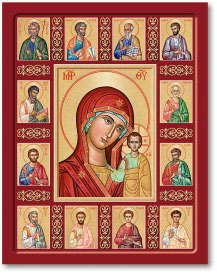 Queen of the Apostles icon