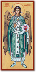 Saint Gabriel the Archangel Icon