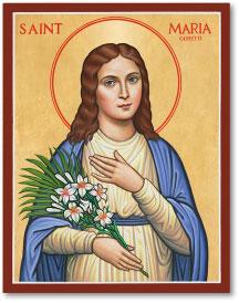 Saint Maria Goretti icon