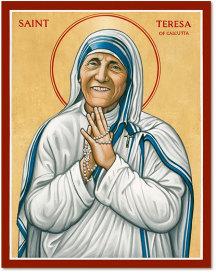 Saint Teresa of Calcutta icon