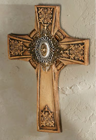 Savina Stone Wall Cross