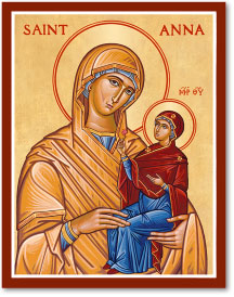 St. Anna icon
