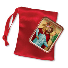 St. Christopher Pocket Icon