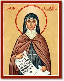 St. Clare icon