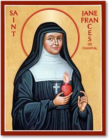 St Jane de Chantal icon