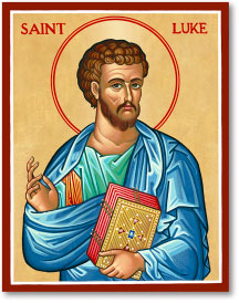 St. Luke icon