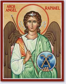 St. Raphael icon