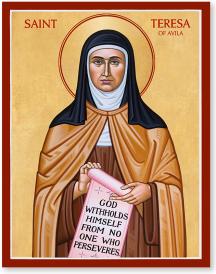 St Teresa of Avila icon