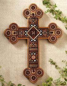 Ukrainian Folk Cross