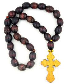 Ukrainian Prayer Beads   Brown