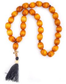 Ukrainian Prayer Beads   Light Brown