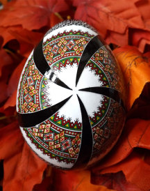 Ukrainian Star Fine Art Egg